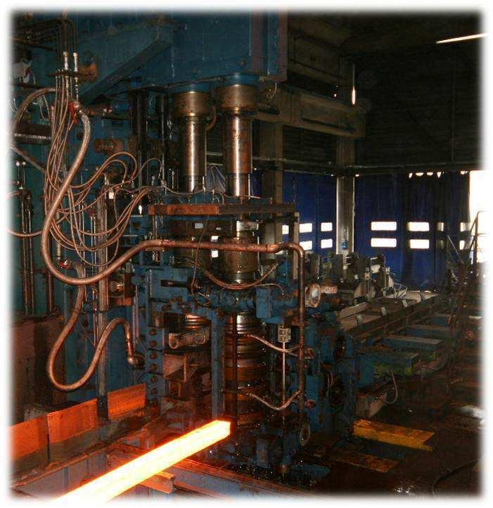 Roughing mill with housingless horizontal + vertical sliding reversible stands An advanced solution for a state of the