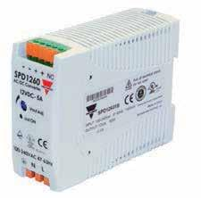 SPD DIN-Rail switching power supplies SPD 5/10/18W 1-Phase SPD 30/60W 1-Phase SPD 90/100W