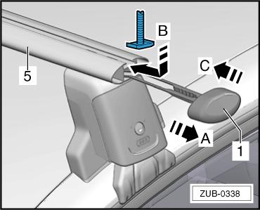 This indicates that the correct tightening torque has been applied. Close the cover flaps -16- and close the lock -17- with the key -18-. 4.