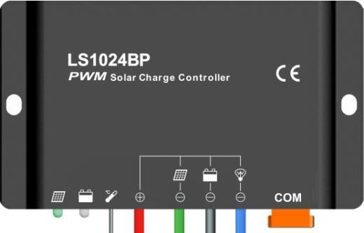 LandStar LS1024BP/ LS2024BP Solar Charge Controller Nominal system voltage 12/24VDC* Maximum PV input voltage 50V Nominal charge / discharge current LS1024BP 10A LS2024BP 20A *The solar charge