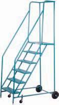 ROLLING SAFETY LADDERS MA613 ROLLING LADDERS MA622 Certified as per ANSI A14.7 Note: Ladders are not to be used as work platforms.