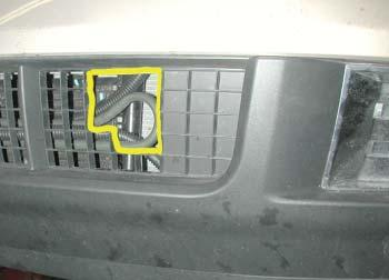 For '07 to '10 Lincoln MKX models, refer to Figures V and W for correct trimming of the fascia and Figure X as a reference for trimming the center portion