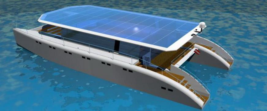 Solar energy Solar energy can give 100% autonomous for a vessel if the solar array is big enough.