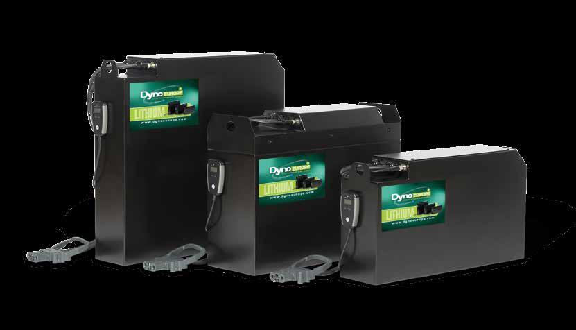 CYCLIC BATTERIES LITHIUM-ION BATTERIES PREMIUM QUALITY INNOVATIVE ENERGY SYSTEM FOR INDUSTRIAL AUTOMATION PREMIUM QUALITY Dyno Europe Lithium is the next-generation battery for every industrial