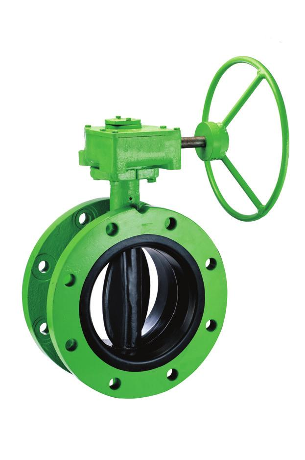 Aquaseal Plus Integrally-moulded Butterfly Valve - Class 150 (Flanged) DN 150 to DN 300 DN 350 to DN 600 DN 650 to DN 900 Dimensions (ASME B16.