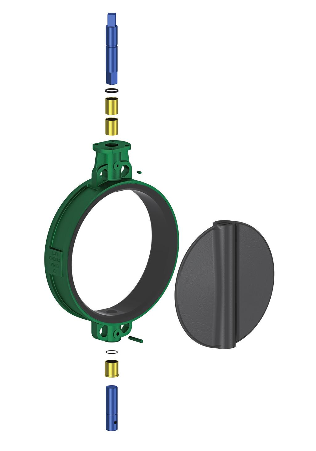Features & Benefits Longer Life The strength of the vulcanised liner as well as its strong bonding with the body ensure that it doesn t get deformed and torn by the disc during valve operations.