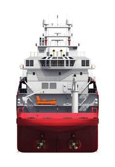driven Performance: Fuel consumption (subject to weather) Full speed (12 knots) abt 13 t/day Service speed (10 knots) abt 11 t/day Service speed (8 knots) abt 8 t/day DP mode abt 6 t/day In port abt