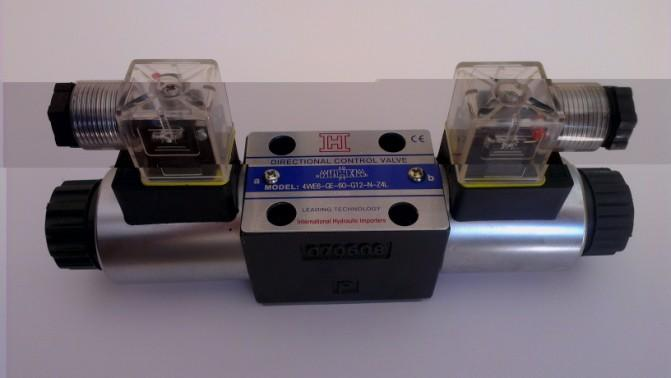 4WE Series Solenoid Directional Control Valves Technical Specification Model 4WE3 4WE4 4WE5 4WE6 4WE10 Max.