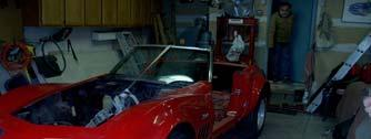 exterior hard top, engine, drive train, doors, hood, rear deck cover, headlight doors,
