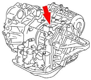 T-SB-0200-08 August 7, 2008 Page 7 of 9 YEAR ENGINE SERIAL NUMBER U250E Camry 2008 2009 2AZ Example: 08 A D 2 00001 08: Year of Manufacture D: Plant Code 2: Line Code Location: Center of