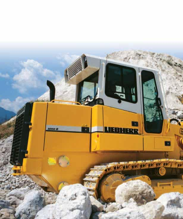 LR 622 B LR 632 B Engine output: 97 kw / 132 hp Operating weight: 15,900-17,600 kg 35,100-38,800 lb Bucket capacity: 1.54-1.80 m 3 2.01-2.