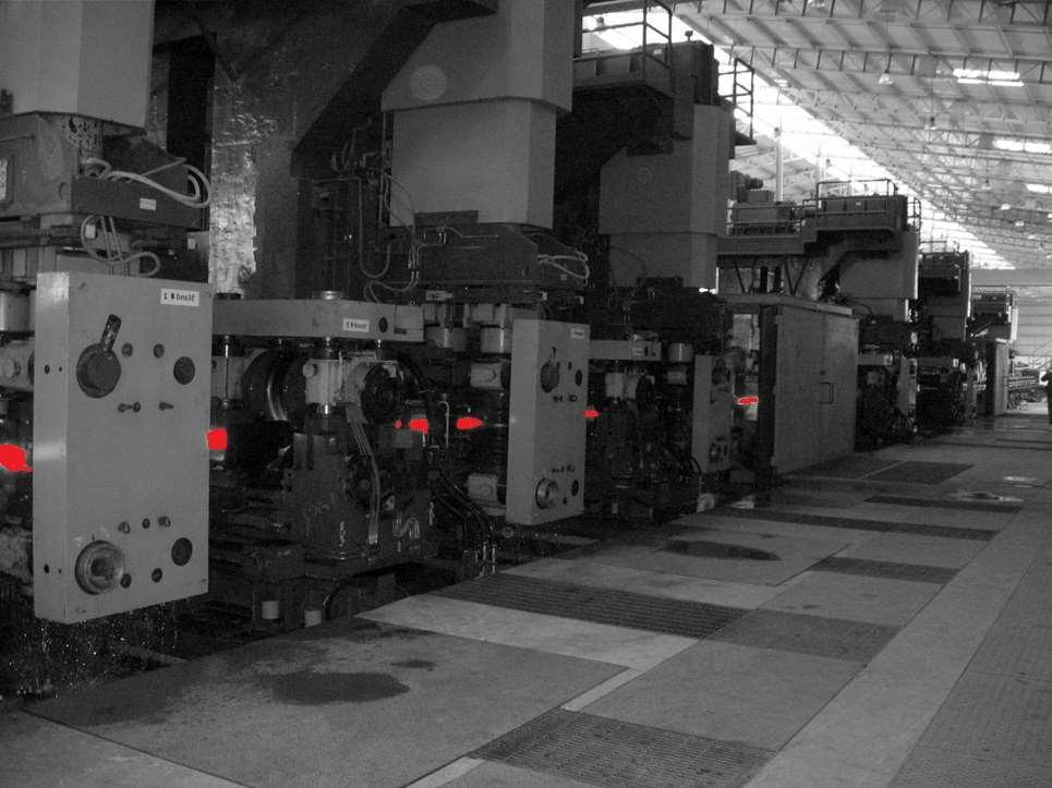 STEEL Hot Rolling Mills for Bars Coil Coating Lines Grinding Lines Q.