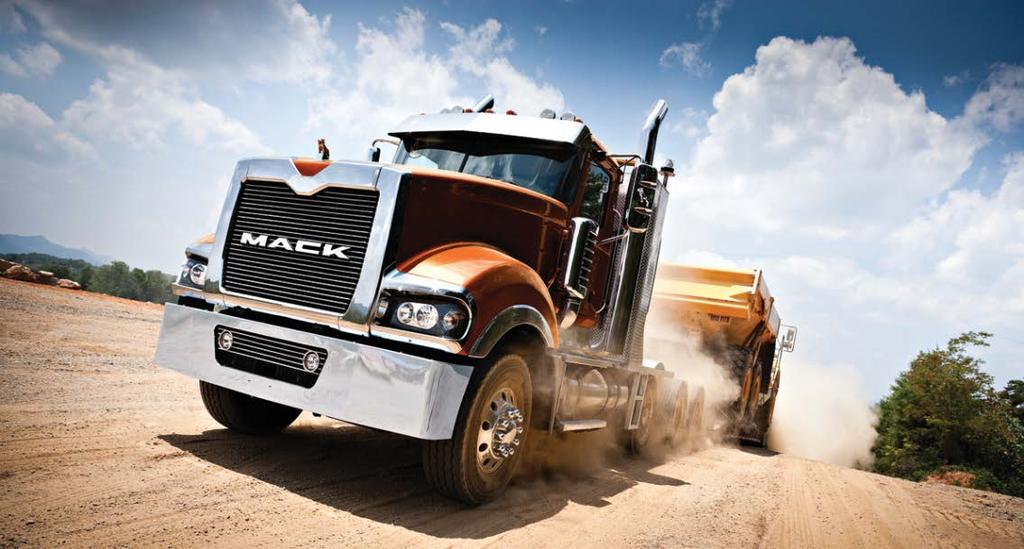 "Mack Trucks Founded in 1900, Mack Trucks - recognized around the world as ""The American Truck You Can"