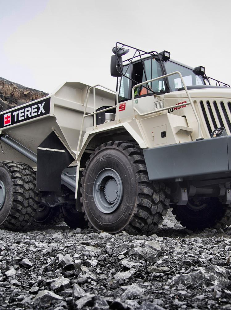 Terex Trucks Terex Trucks is a leading manufacturer of articulated and rigid haulers that are used around the world in mining, quarrying, and