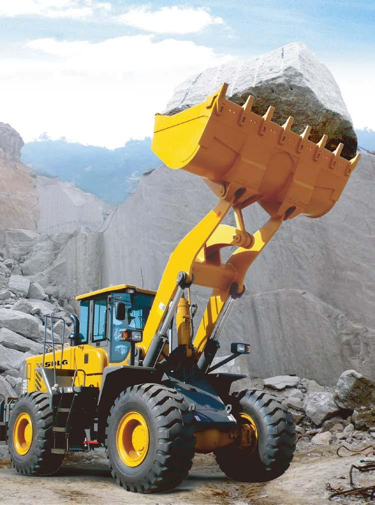 SDLG SDLG* is a leading brand in the Chinese construction machinery industry, especially for wheel loaders.