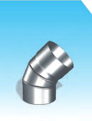 Fittings made up of aluminium coated plate, thickness 2 mm Priklju~ni elementi od aluminata debljine 2 mm KOENO 90 Elbow 90 1 K90U OZNK Z NRUŽBU / ORERING COE xxxxxxx zzz VP 130 140 150 1 180 170 175