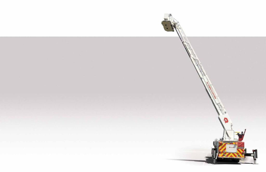 Smart Aerials The Best Technology to Fight Fires Rosenbauer s Smart Aerials, standard for all of our Cobra platforms, provide