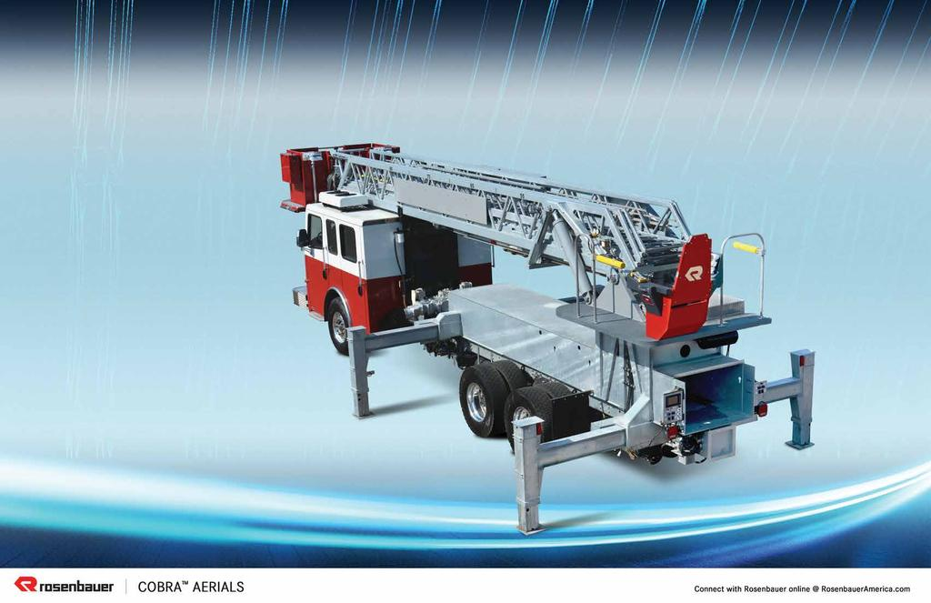 BUILT TO LAST As aerials are a major investment, Rosenbauer designs for dependability,