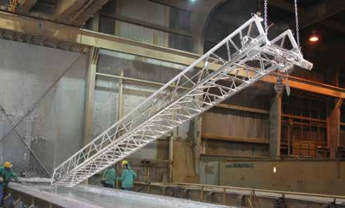 From the standard hot-dip galvanized torque tube and outriggers which prevent corrosion in