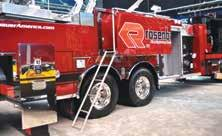 For a lower profile and better overhead clearance, choose the Rosenbauer Cobra Mid-Mount platform.