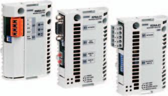 Options Fieldbus control ABB industrial drives have connectivity to major automation systems. This is achieved with a dedicated gateway concept between the fieldbus systems and ABB drives.