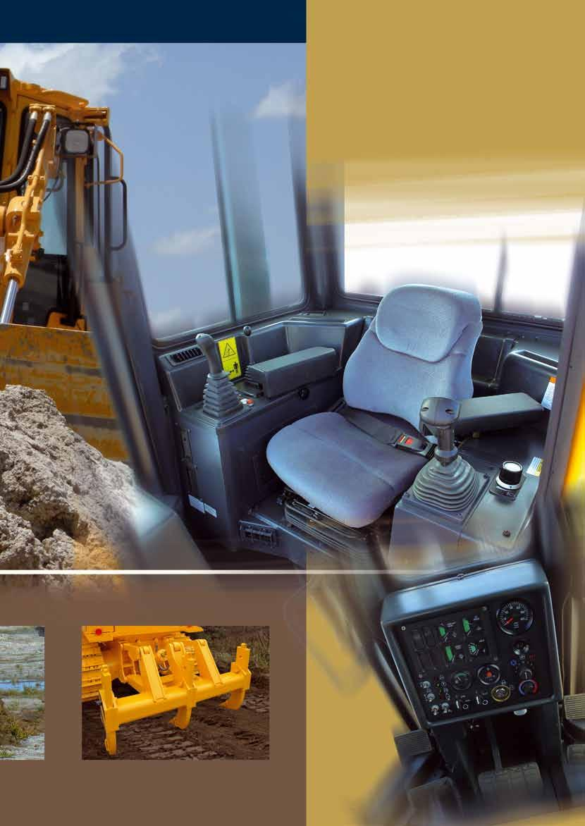 The instrument panel provides the operator with the information about the condition of the machine during operation.