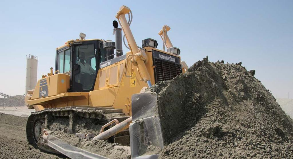 With this Komatsu Technology and adding customer feedback, Komatsu is achieving great advancements in technology.