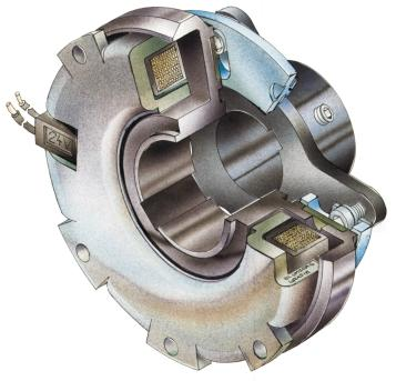 ROBATIC Electromagnetic Clutch Constant switching performance throughout the total service life High torque security due to an optimised magnetic field and the new design of the ROBATIC -clutch.