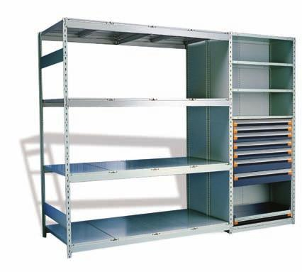 Spider Shelving System THE MOST VERSATILE THAT EXISTS Much more than a simple shelving unit! Sturdy construction and quick assembly, the Spider shelving system meets all of your storage needs.