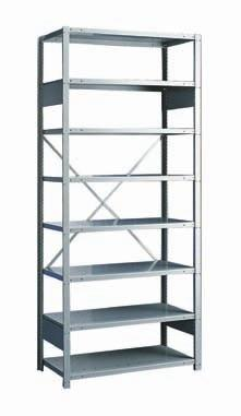 Spider Shelving System The Rousseau Advantages Assembly is simple : shelves are installed on the posts