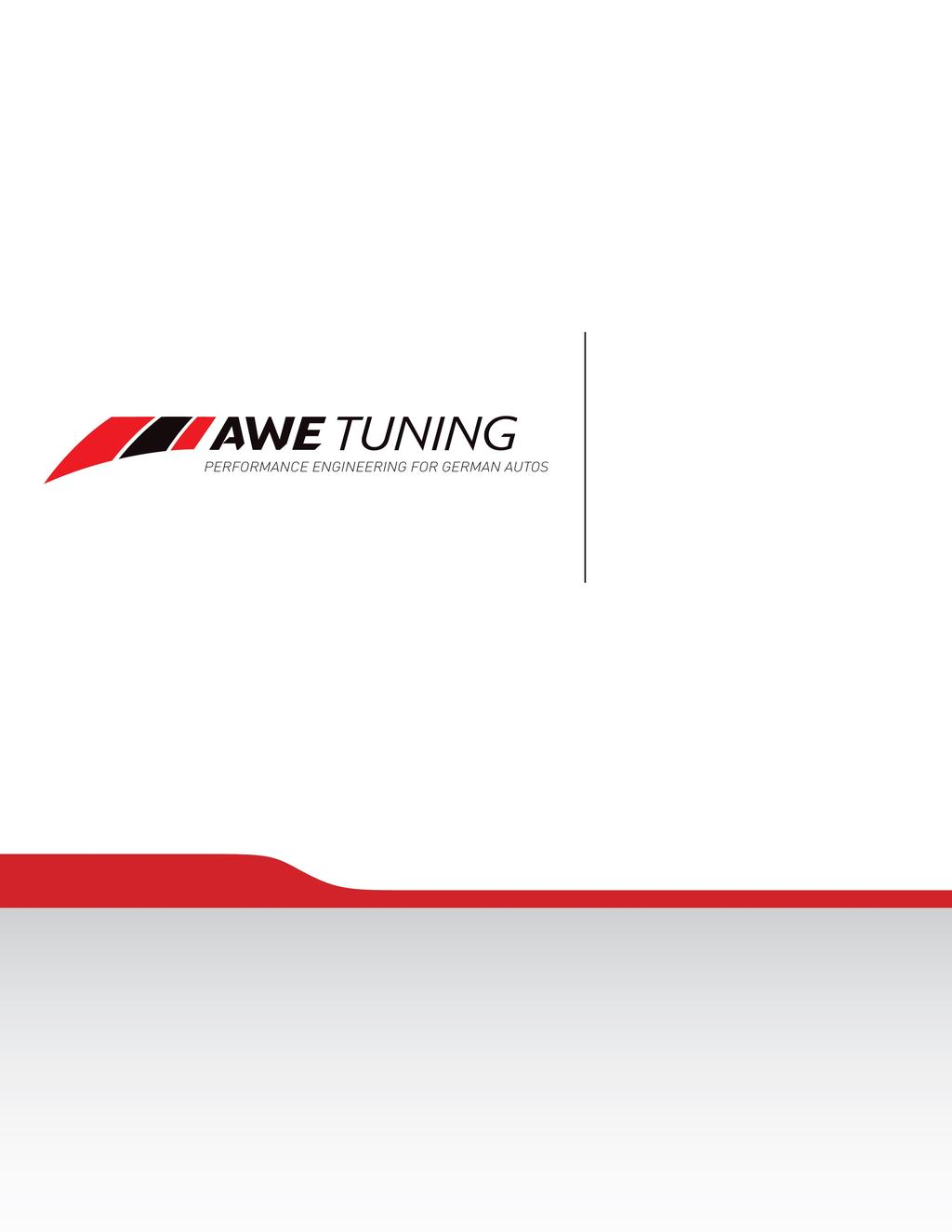 INSTALLATION GUIDE 2008-2012 Audi S5 4.2l Touring Edition Exhaust System 90mm Tips Congratulations on your purchase of the AWE Tuning Touring Edition exhaust for the 2008-2012 Audi S5 4.2L V8.