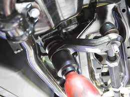 tools and consult the factory service manual for recommended torque values and procedures.