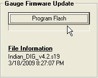 8. Click on Program Flash and it will guide you through the install 9.