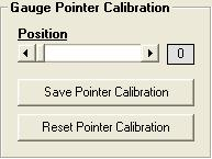 The gauge pointer calibration tool can be used to re-set your speedometer needle at the zero MPH or resting position.