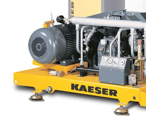 These include newly designed compressor blocks with oil pumps and high efficiency coolers, both of which are essential for