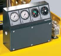 These compressors are equipped with one- or two-cylinder compressor blocks and are driven by high effi