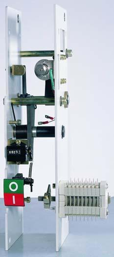 SecoVac Embedded Pole VCB Benefit of Modular Mechanism Less time and no special tool needed for overhaul Reduce shutdown time Lower maintenance cost No mechanical readjustment