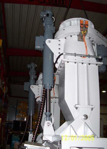 Conveyor Belt Roll Tension Actuator /