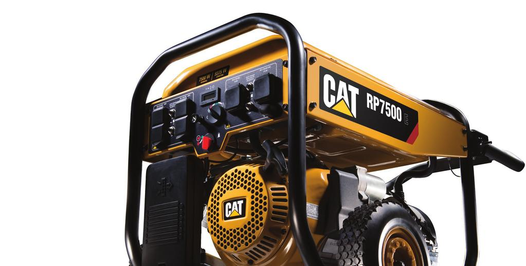 Cat portable generators are meant to be taken out, used and put through their paces.