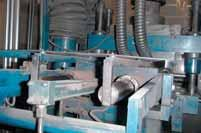 Thus, applications in which machine parts are primarily stainless steel, i.e. food and filling equipment, are well suited for the use of solid plastic bearings.