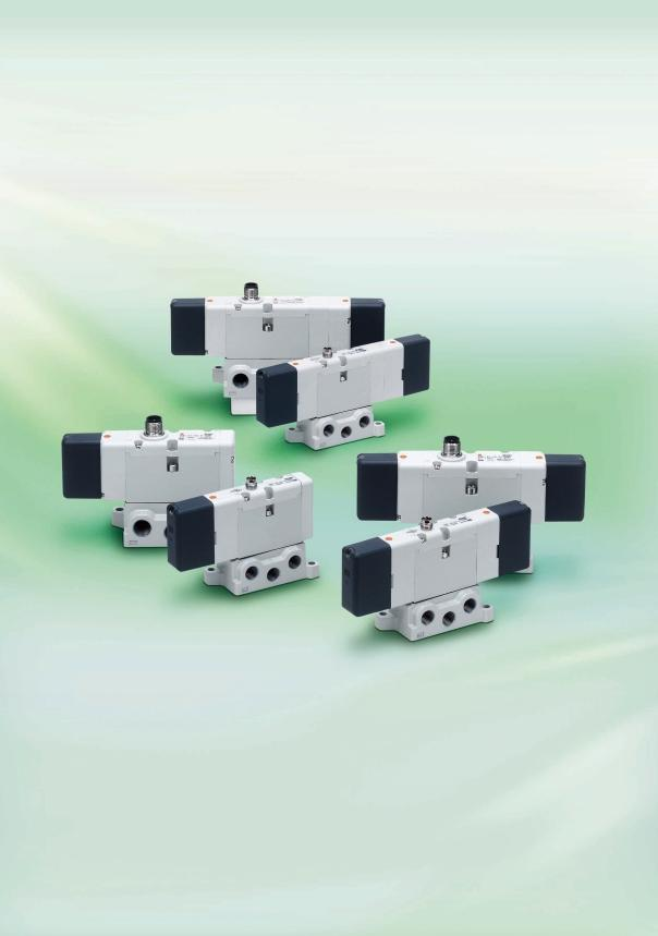 P-EX01-A Solenoid Valve (with M Connector) Conforming to ISO 1507-1, Large capacity EVS1-01 (Size: 01) EVS1-0 (Size: 0) Light weight Size 01 (-position): 0.6kg Size 0 (-position): 0.