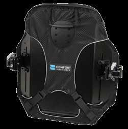 Durable aluminum shell maintains its integrity under harsh conditions and long-term usage. Compass 4 Hardware allows for back support adjustment without transferring the user or losing seat depth.