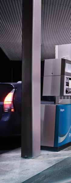Fast & safe fuel access The CNG In A Box system includes the reliability and speed of Wayne fuel dispensers.