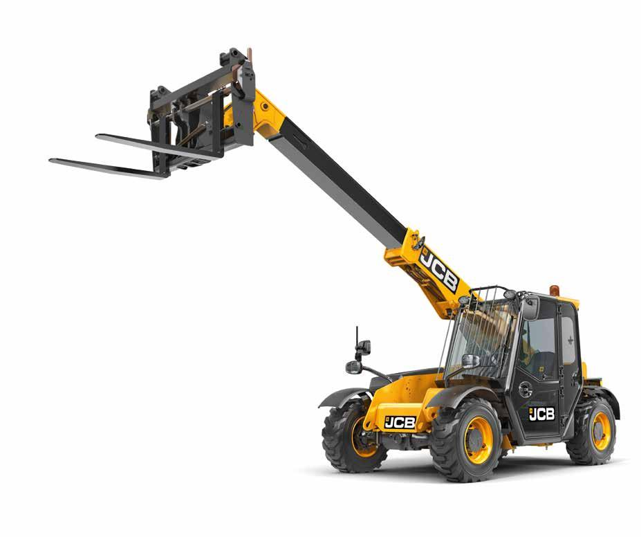 COMFORT AND EASE OF USE. IN ORDER FOR A TELEHANDLER TO OFFER ULTIMATE PRODUCTIVITY, IT NEEDS ITS OPERATOR TO BE COMFORTABLE AND FOCUSED.