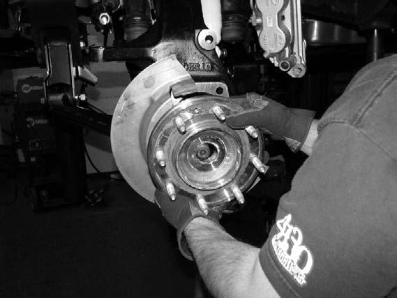 Install into the Fabtech spindle.