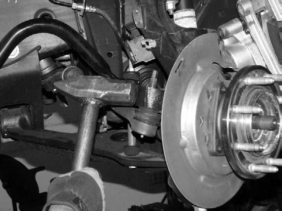 SUSPENSION SYSTEM WILL NOT WORK ON VEHICLES EQUIPPED WITH FACTORY AUTO RIDE SUSPENSION VERIFY DIFFERENTIAL FLUID IS AT MANUFACTURES RECOMMENDED LEVEL PRIOR TO KIT INSTALLATION.