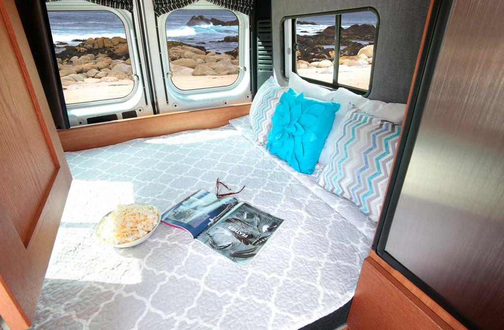 CRAFTSMANSHIP COMFORT STYLE Features Expanded galley features a 5.0 cu. ft.