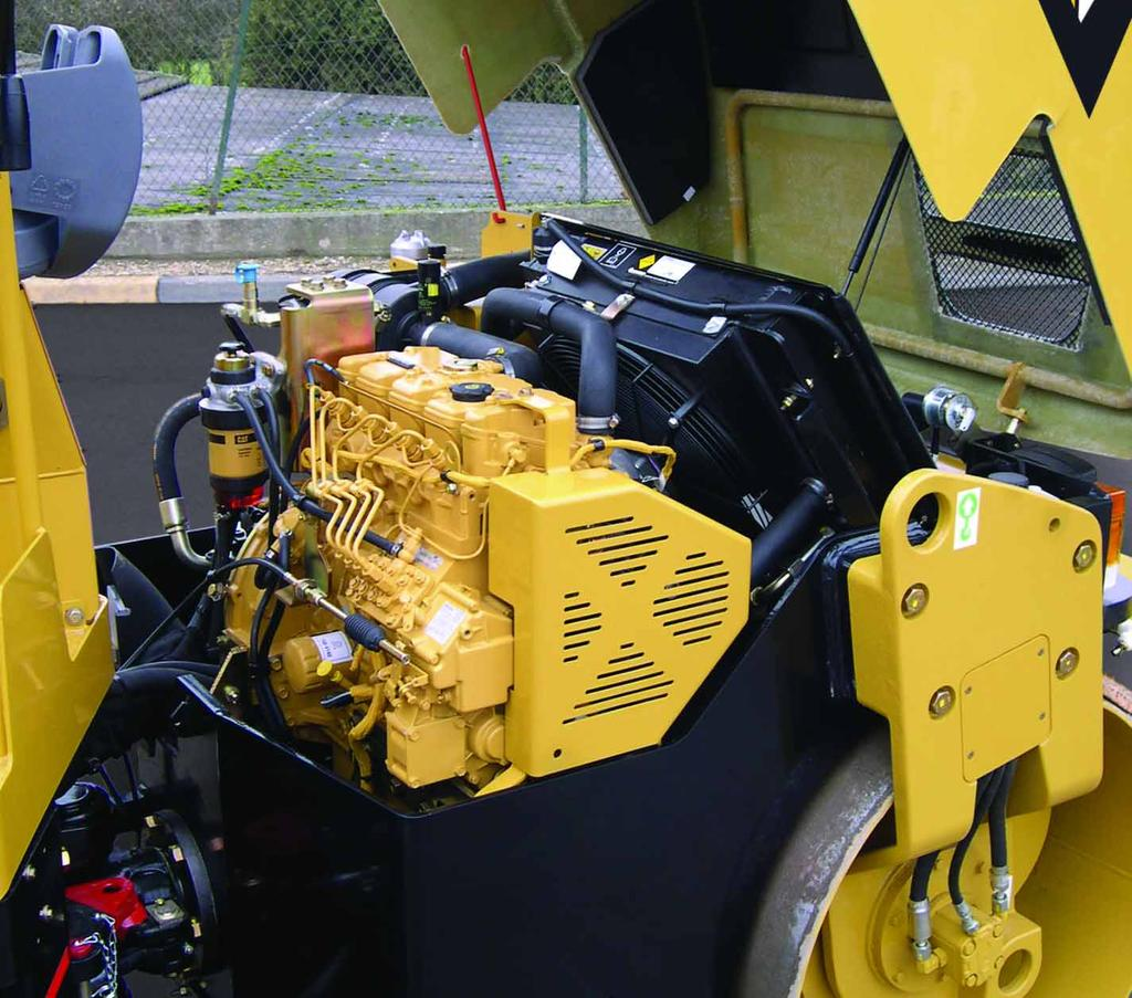 Caterpillar 3024C Engine The Caterpillar 3024C engine provides efficient power while meeting U.S. EPA Tier 2 and E.U. Stage II engine emission requirements.