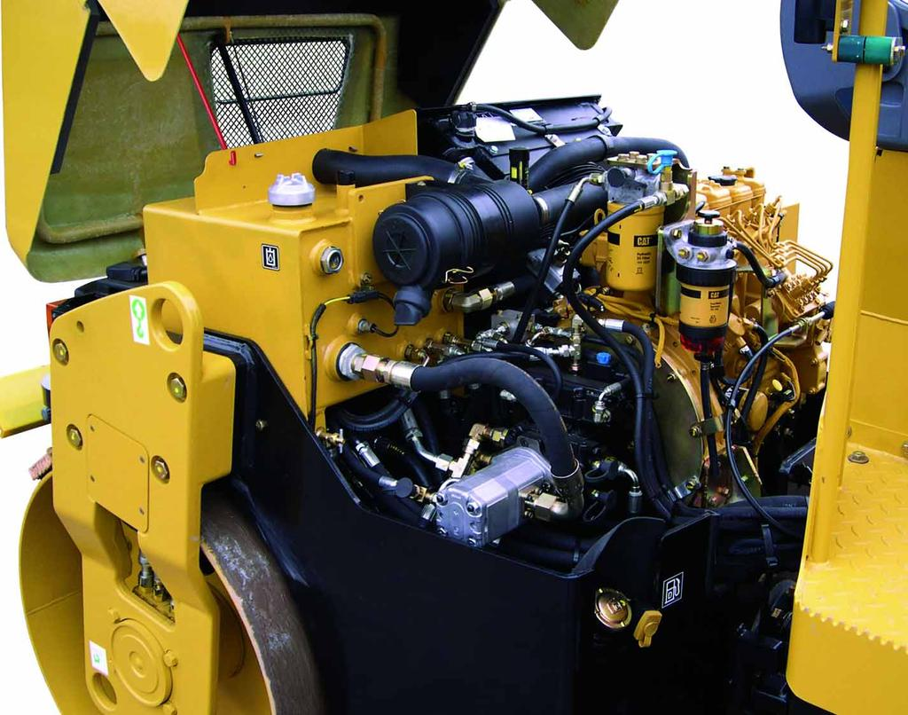 Reliability and Serviceability The CB-300 E-Series machines provide the reliability and serviceability that you ve come to expect from Caterpillar.