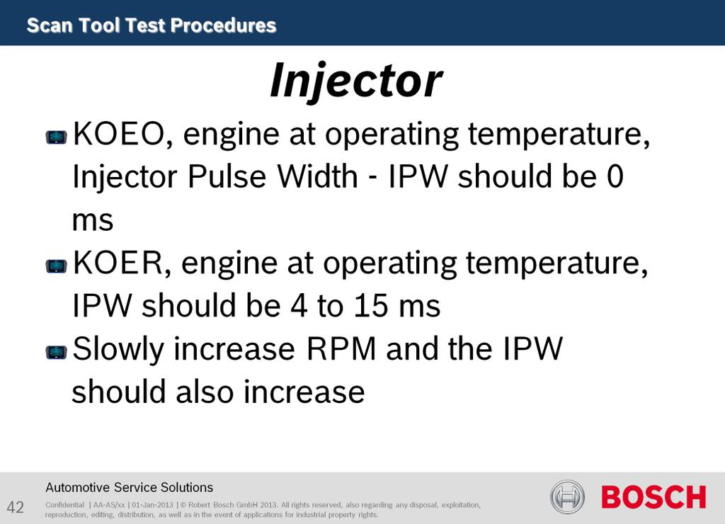 Purpose of this test is to test Injector function.